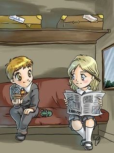 Harry Potter - Neville Longbottom x Luna Lovegood - Nuna