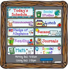 Our 'Lesson Plans' activity download will help keep teachers prepared and organized all year long! This delightful download includes over 20 scheduling cards to post in the classroom (plus blanks to make your own), a 2 page lesson plan template, a lesson plan calendar AND a substitute info sheet.  http://www.djinkers.com/printables/school/lesson-plans-teacher-printables-download.html