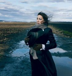 Photograph by Annie Leibovitz WHAT'S BRED IN THE BONE Anjelica Huston, photographed in Goshen, New York.