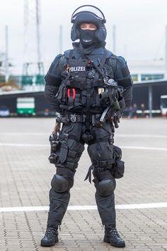 Corpi speciali polizia di Amburgo☠