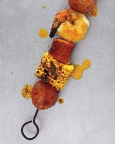 Shrimp-Boil Kebabs