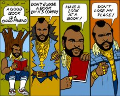 Oh my god, Mr. T bookmarks....