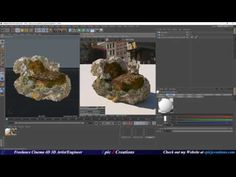 Quixel Megascans Fuz Map workflow in Cinema 4D and Octane - YouTube