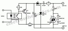 This universal triac controller circuit with optocoupler solves the problem that triacs have when functioning at low temperatures (triac needs higher gate Circuit Diagram, Electronic Circuit Projects, Electronic Engineering, Diy Electronics, Electronics Projects, Read My Email, Power Supply Circuit, Hi Fi System, Tecnologia