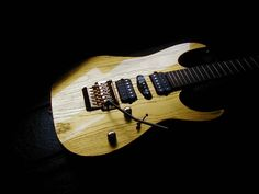 1999 Ibanez J Custom RG GOLD-1. Made in Japan. lessonator.com