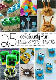 Plain Rice Krispie treats are fine, but why not kick it up a notch? Kids love silly. Ever spent an hour in a car with a five-year-old? More knock knock jokes than you can imagine. So instead of making plain Rice Krispie treats, why not silly things up a bit? These 25 Silly Rice Krispie Treats for Kids are hilariously adorable and definitely something your kids will talk about for years to come. Enjoy! 25 Silly Rice Krispie Treats for Kids These krispie cheese burgers are perfect for your…