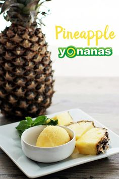 Pineapple Yonanas recreates the flavors of a delicious Dole Whip at home using just frozen bananas and pineapples! Pineapple Health Benefits, Turmeric Health Benefits, Vegan Desserts, Dessert Recipes, Benefits Of Eating Avocado, Frozen Banana, Frozen Fruit, Fruit Ice, Frozen Desserts