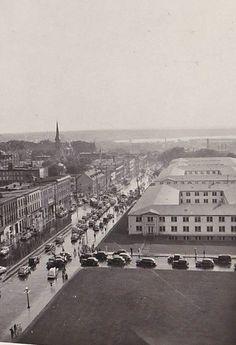 https://flic.kr/p/gcTRx5 | Wellington St. west of the Dept of Justice 1940's | Ottawa, ON