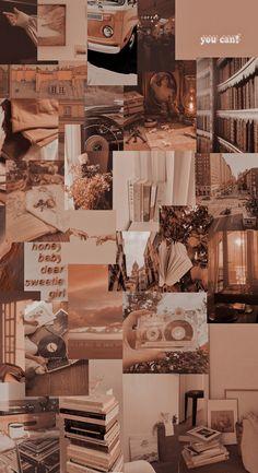 Brown aesthetic wallpaper