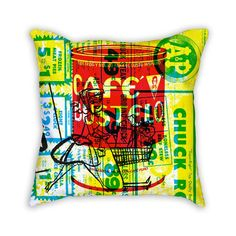 SUPERMERCADO (BUSTELO) THROW PILLOW – Peralta Project