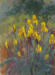 Flower Painting Tips for May Day, painting by artist Karen Margulis