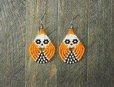 Seed Bead Bracelets, Seed Bead Jewelry, Seed Bead Earrings, Etsy Earrings, Seed Beads, Small Earrings, Beaded Earrings Patterns, Seed Bead Patterns, Beading Patterns