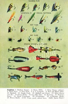 283 Best Vintage Fishing Lures Images