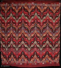 Not antique but the finest collectible example of a south Anatolian zili embroidered sofra (or ru-korsi) that I have yet come across. Extremely fine and skilled embroidery with great used of colour  ...