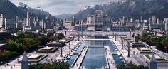 Hunger+Games+city+futuristic+garden+desi