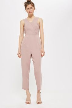 Blush Tapered Jumpsuit