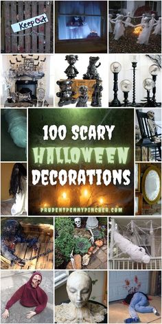 Cheap Halloween Decorations, Halloween Mantel, Scary Halloween Decorations, Halloween Crafts, Halloween Ideas, Halloween Witches, Outdoor Decorations, Halloween Stuff, Fall Crafts