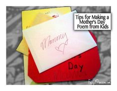 Mothers Day Poems From Older Kids  Make A Mothers Day Poem From Kids  Faithful Provisions
