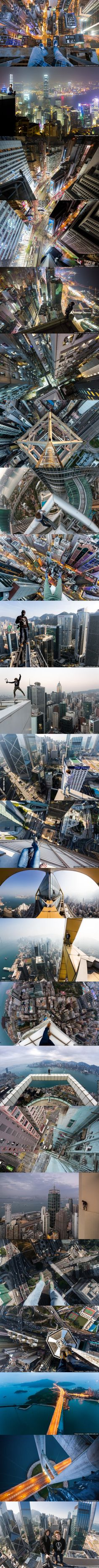 A few pictures of Hong Kong, taken by two Russians guys