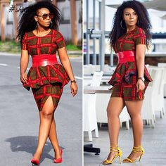 Spice Up Your Look With These Trend-Setting Ankara Styles - Wedding Digest Naija African Men Fashion, African Dresses For Women, African Print Dresses, African Attire, African Wear, African Fashion Dresses, African Women, African Clothes, Ankara Fashion