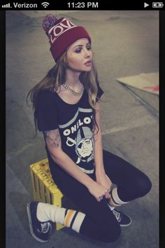 Love this! Hipster style.
