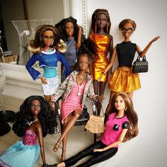 "thedollcafe: ""Barbie Style """