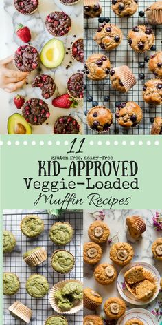 We are all looking for creative and delicious ways to get more of them into our diets. And definitely ways to get more veggies into our kids' diets. Believe it or not, muffins are a great veggie vessel and are a favorite snack and/or breakfast of Grab And Go Breakfast, Healthy Breakfast For Toddlers, Toddler Recipes Healthy, Toddler Breakfast Ideas, Healthy Kid Snacks, Healthy Food For Kids, Eat Healthy, Paleo Kids, Healthy Muffin Recipes
