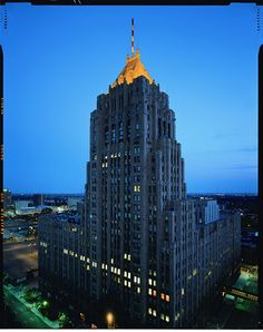 Fisher Building New Center area Detroit, Michigan. my mom sang here for WJR from about 3 years old to her late teens early 20s