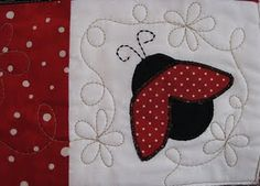 one day I will find an excuse to make a lady bug quilt