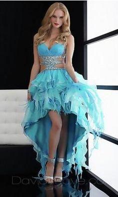 Encontre esto: 'Blue Prom Dress' en Wish, ¡échale un ojo!