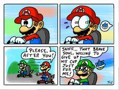 Rando-MEMES #1: Mario Kart by GalladedOlive.deviantart.com on @DeviantArt