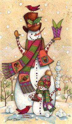 Snowmen by DeeDeeBean