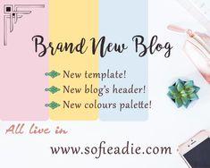 Brand New Blog! | SOFIE ADIE