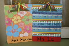 A Diamond in the Stuff: Teacher's Clipboard Gift {Tutorial}