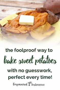 425 - No more guesswork - learn how to perfectly bake a sweet potato with this special technique. Sweet potatoes are Paleo and friendly making them the perfect side dish. Perfect Baked Sweet Potato, Paleo Sweet Potato, Sweet Potato Recipes, Side Dish Recipes, Vegetable Recipes, Dinner Recipes, Dessert Recipes, Whole30, Paleo Recipes
