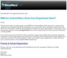 #Android Estudia BlackBerry la posibilidad de llevar el BBM a Android 2.3 Gingerbread? - http://droidnews.org/?p=532