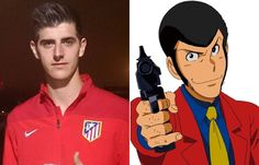 Thibaut Courtois y Lupin Thibaut Courtois, Fallout Vault, Boys, Fictional Characters, Cartoon, Baby Boys, Senior Boys, Fantasy Characters, Sons