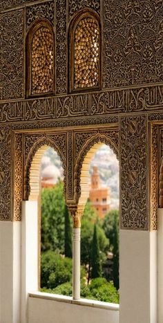 Alhambra Palace, Granada, España | Spain  ✈✈✈ Don't miss your chance to win a Free Roundtrip Ticket to Granada, Spain from anywhere in the world **GIVEAWAY** ✈✈✈ https://thedecisionmoment.com/free-roundtrip-tickets-to-europe-spain-granada/