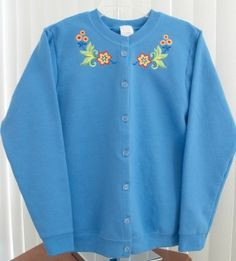Embroidered Jackets - Carole's CreationsSweatshirt Jackets
