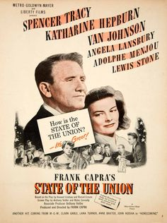 1948 Ad Movie State of the Union Frank Capra Spencer Tracy Katharine YMS2