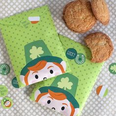 How cute are these leprechaun treat bags? Perfect for your kids St. Patrick's Day goodies and ready to download and print