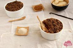 La parfaite pâte à crumble saine & gourmande  Cumulus, tranches de soleil & pluie vanillée