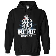 Let BOARDMAN handle it! - #grey tshirt #christmas sweater. OBTAIN LOWEST PRICE  => https://www.sunfrog.com/Christmas/Let-BOARDMAN-handle-it-9376-Black-9794098-Hoodie.html?id=60505