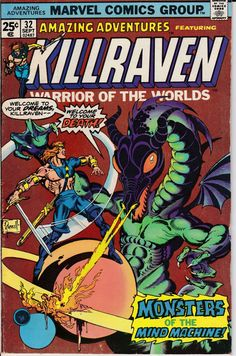 Amazing Adventures #32, septiembre de 1975 tema - Marvel Comics - p.craig russell