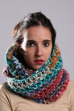 CARRIE INFINITY SCARF by NollaRice on Etsy