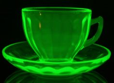 Uranium Glass - Aaahhhhh. . . For Real? Glows in the dark! Cool but deadly
