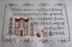 Forest Snowfall by Country Cottage Needleworks from The Craft Room