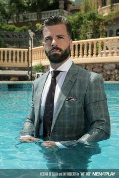 61b159c990ed 8 Best Hector Desilva images in 2018   Ties, Beard man, Bow tie suit