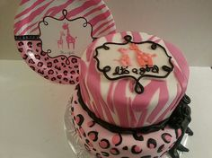 It's a Girl Cake by Pink Apron Confections, via Flickr