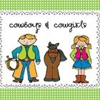 Having a Cowboy theme week?   Then this pack will totally fill your week up.  So much to do, not enough time.